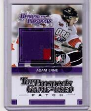 ADAM ERNE 13/14 ITG H&P Rookie Top Prospects Rookie 3-color Patch TPM-06 SP Card