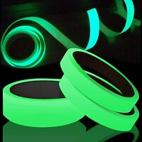 3 Meter/9.8ft  Roll Glow In The Dark Luminous Self-adhesive Safety Sticker Tape