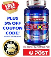 ALLMAX NUTRITION - TRIBX90 100% PURE TRIBULUS CAPSULES TESTOSTERONE TEST BOOSTER