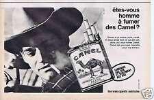 Publicité Advertising 026 1964 Camel cigarettes