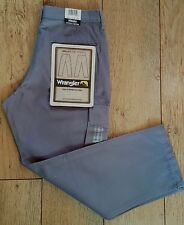 Bnwt Authentic Women's Valley Wrangler Cargo Combat Jeans Trail Fit Pewter Grey