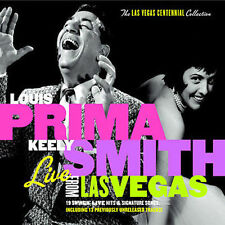 LOUIS PRIMA & KEELY SMITH - Live From Las Vegas CD ** Brand New **