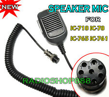 Hand Mic for ICOM IC-718 IC-78 IC-765 same as HM-36