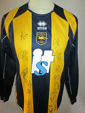 Brighton and Hove Albion 2008-2010 Away Football Shirt Signed by 08-10 squad COA