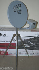 DISH NETWORK SATELLITE 500 DISH 3' TRIPOD KIT COMPASS METER CABLE RV TAILGATING