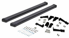 Running Boards Side Step Bar Black Aluminum Fit 1992-1999 Chevy GMC Suburban