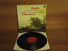 Haydn : Symphonies Nos.88 & 99 : Colin Davis : Stereo : UK Pressing