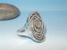 VVS1 Echte Diamanten-Ringe aus Weißgold
