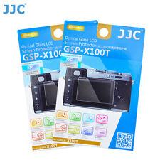 JJC 2PCS Tempered Glass Screen Protector for FUJIFILM X100T X100F X-M1 X-A1 A2