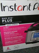 Instant Pot Duo Plus 10-in-1 Electric Pressure Cooker - 6Qt