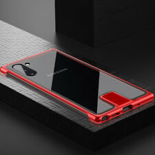 Metal Tempered Glass Glossy Luxury Back Protective Case Cover For Sony Xperia5