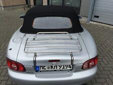 Mazda MX5 NB Maßgeschneidert Gepäckträger |1998 - 2005 | MK2 | Edelstahl | Neu