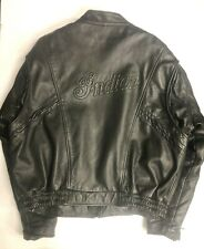 Authentic GENUINE  Indian Leather Jacket XL
