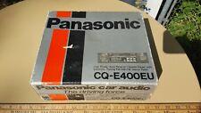 New listing Panasonic Cq-E400Eu Car Stereo Cassette Tape Player & Am/Fm Radio With Box