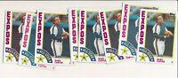 1984 Topps Gary Carter Mets #393 Lot of 10