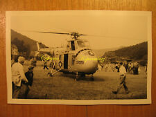 ~1950 altes Foto AK Hubschrauber US Air Force Rescue Heli Helicopter / Pc Rppc