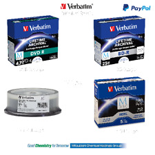 Verbatim M Disc DVD Blu Ray Blank Disc 4.7gb 25gb 50gb 100gb
