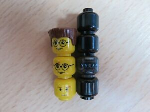 LEGO MINIFIGURES HARRY POTTER & STAR WARS STORM TROOPER HEADS.SPARE MIXED PARTS.