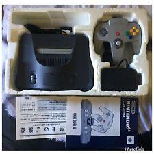Console Nintendo 64 Complet Boite Jap Import