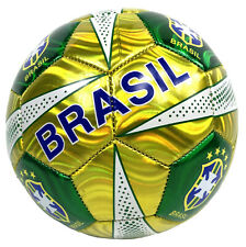 New Brazil Style Official Football Soccer Ball Size 5