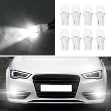 8pcs 12V 5W T10 W5W Blanc LED Voiture Lecture Lumière Largeur Lampe Ampoules