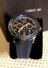 CERUTTI 1881 Watch 46 MM (Free Shipping) NEW IN BOX (Unisex) Water resistant