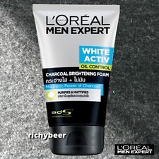 L'Oreal Men Expert White Activ Anti-Spots Oil Control Charcoal Foam (1x100 mL.)