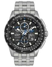 New Citizen Eco-Drive Skyhawk AT Limited Edition Mens Titanium Watch JY8068-56E