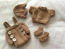 HAND Knitted DOLLS OUTFIT 10-11 nella rinascita / OOAK
