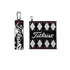Titleist JAPAN Golf Hand Towel with hook Black AJTWH51 2017 New