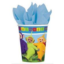 TELETUBBIES 266 ml vasos de papel 8 Paquete Fiesta Cumpleaños Infantil Vajilla