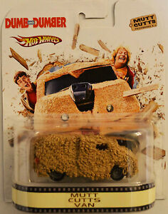 Custom Hot Wheels Mutt Cutts Van Retro Dumb & Dumber w/ Real Rider Rubber Tires