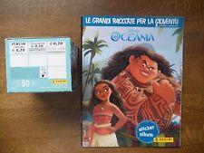 PANINI  BOX 50 ZAKJES/BUSTINES/POCHETTES OF OCEANIA  + LEEG/EMPTY ALBUM