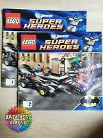 LEGO - INSTRUCTIONS BOOKLET ONLY Batmobile  Two-Face Chase - Super Heroes - 6864