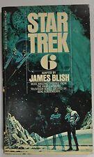 Star Trek 6 Adapted By James Blish, 149p, Bantam Books 1975, Good Condition.