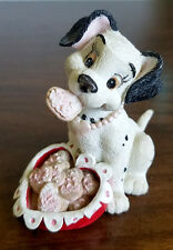 "Enesco Disney 101 Dalmatians Valentine's Figurine ""You're Sweet"" 293032"