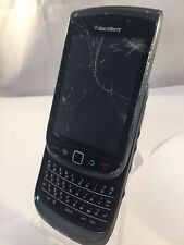 Defectuoso incompleta Blackberry 9800 Teléfono inteligente Negro