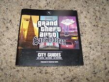 Grand Theft Auto San Andreas City Guides - Los Santos, San Fierro, Las Venturas