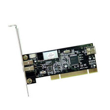 ST Lab F252 PCI 2+1 Port IEEE 1394a Firewire Controller Card w/ Cable & Software