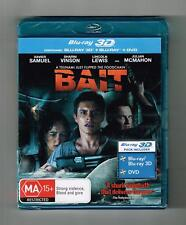 Bait : 3D Blu-ray + Blu-ray + Dvd 2-Disc Set Brand New & Sealed