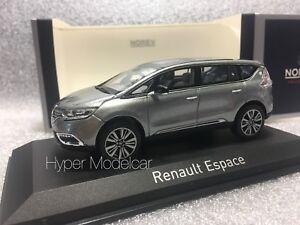 NOREV 1/43 Renault Espace Initiale Paris 2015 Grey Met. Art. 517944