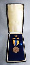 WWII US Selective Service Medal in Original Presentation Case