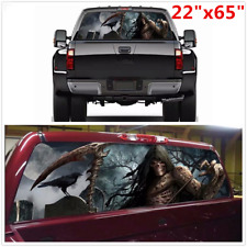 "Large 22""x65"" Car Truck SUV Tint Eye-catching Sticker Rear Window Graphic Decal"