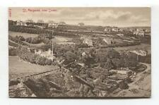 St Margarets, near Dover - early postcard showing houses & gardens