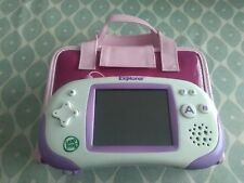 Leapster Explorer - Pink ~ Purple Leapfrog Console with Handbag Storage Case