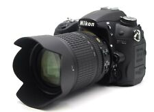 Nikon D7000 16.2MP DSLR Kit w/ AF-S DX ED VR 18-105mm Lens *1300 Shutter Count*