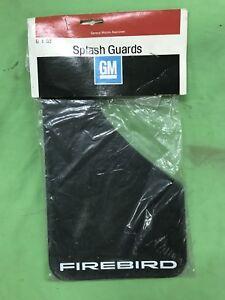 NOS 82-92 Pontiac Firebird Trans Am GM Splash Guard Set - NEW GM ! 997690 Black