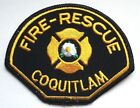 Fire Rescue Patch - Coquitlam BC