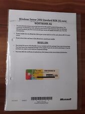 Microsoft Windows Server 2016 Standard 64bit 16 Core