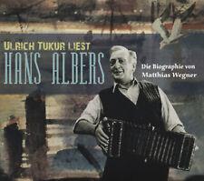 Hans Albers - Biographie (3-CD) gelesen von Ulrich Tukur - Hörbuch/Deutsch